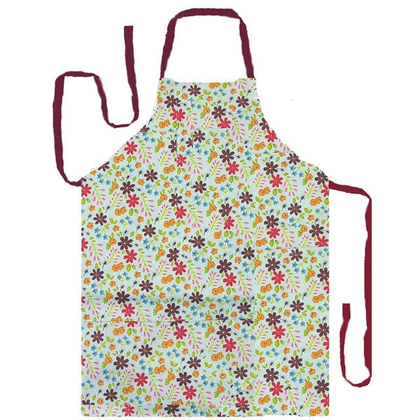 Churchill China Caravan Trail Mint Apron 93cm x 73cm