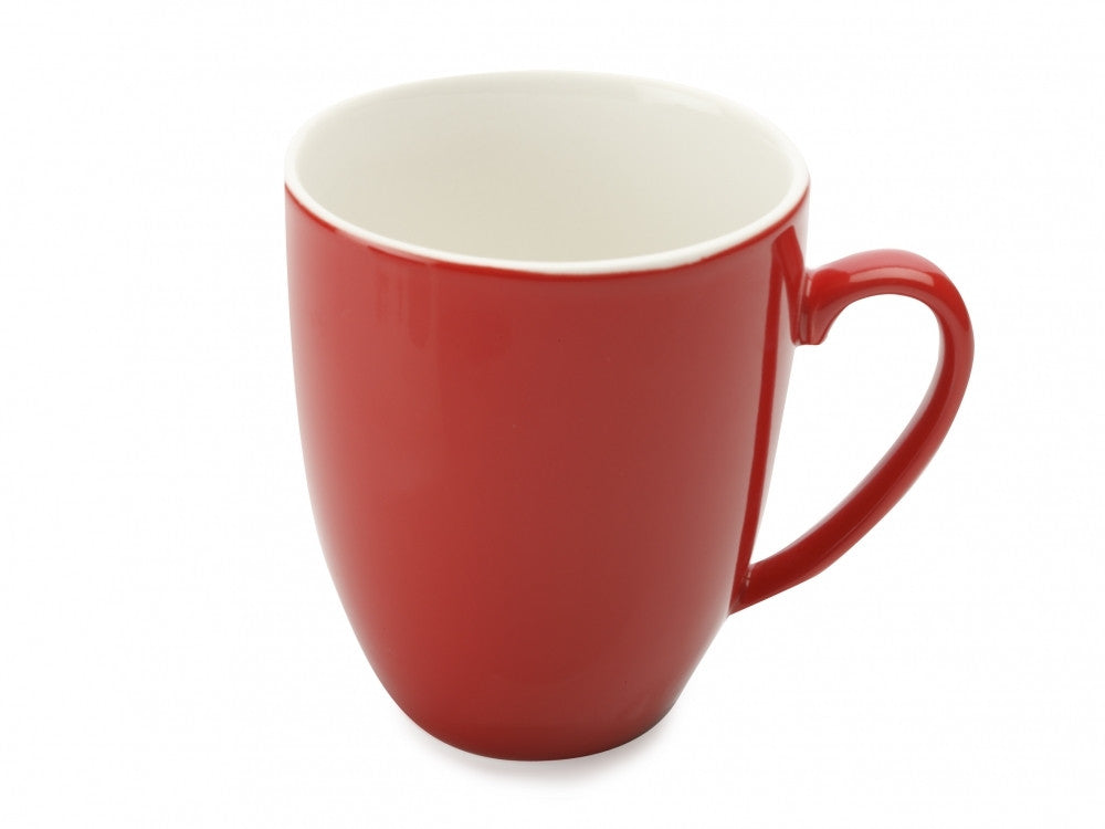 Maxwell and Williams Cafe Culture Coupe Rosso Mug 400ml