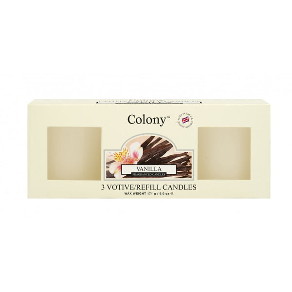 Wax Lyrical Vanilla Votive Refill (Box of 3)