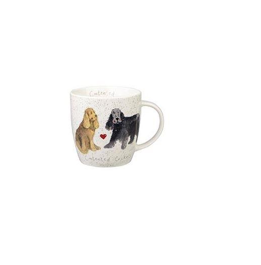 Alex Clark Mugs Cocker Spaniel Squash Mug