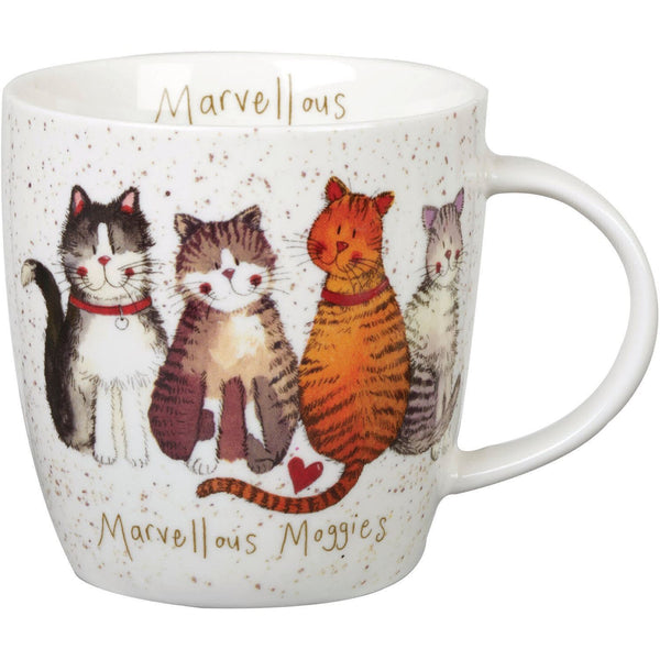 Alex Clark Cats, Dogs and Animals Marvellous Moggies Mug
