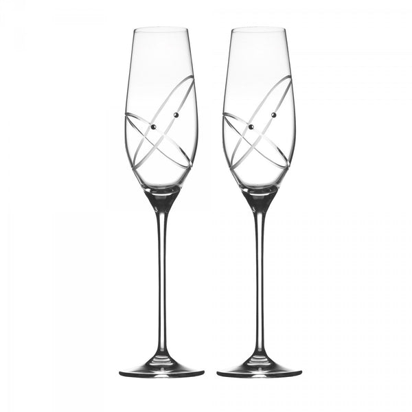 Royal Doulton Promises With This Ring Champagne Flute (Pair)
