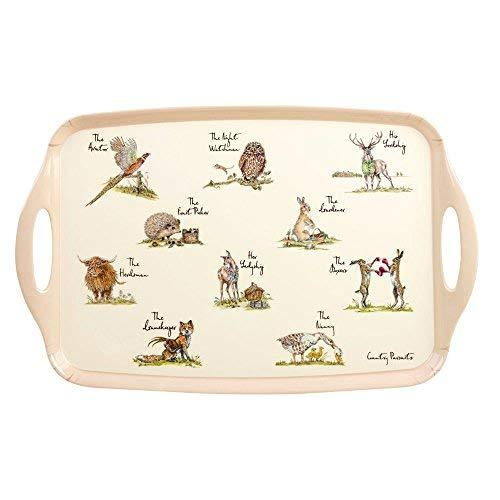 Churchill China Country Pursuits Melamine Tray