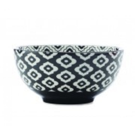 Christopher Vine Alcazar Black Bold Cereal Bowl 15.5cm