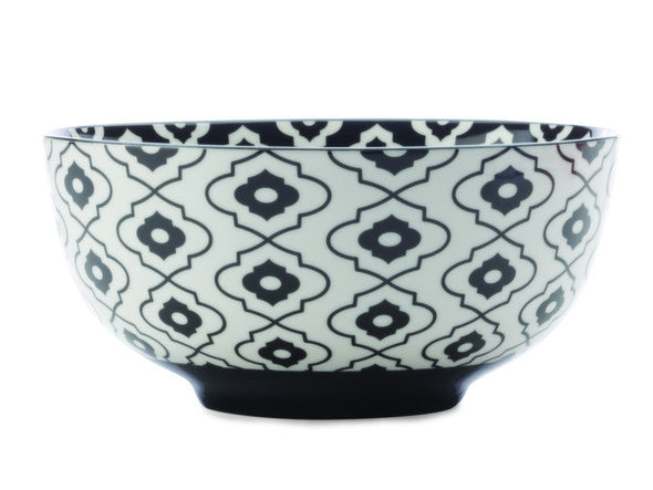 Christopher Vine Alcazar Black Bold Cereal Bowl 18cm