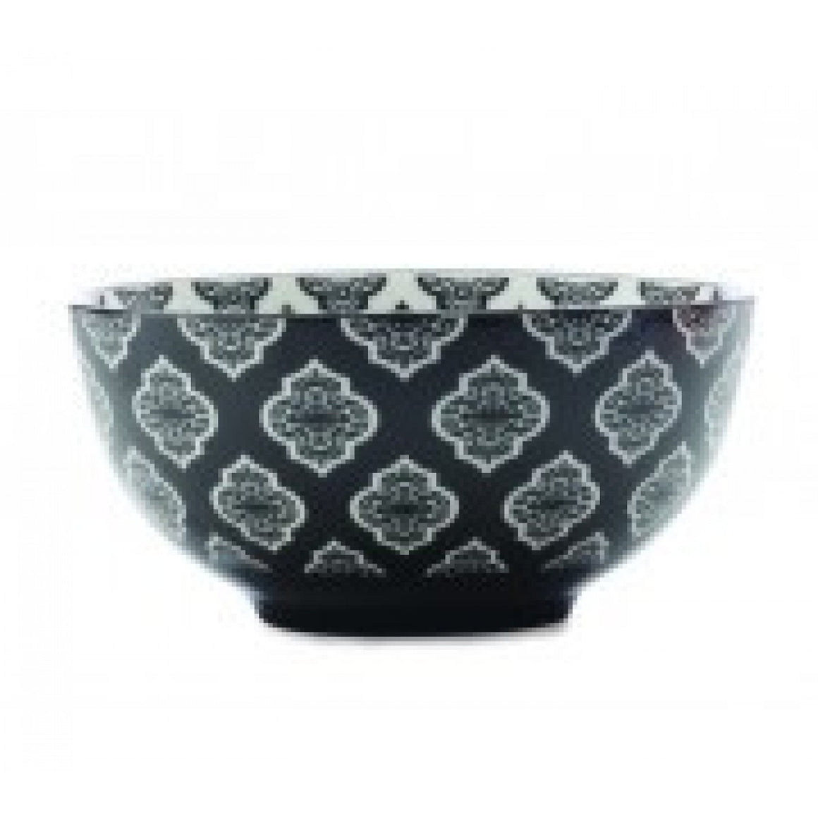 Christopher Vine Alcazar Black Circle Cereal Bowl 15.5cm