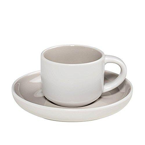 Maxwell and Williams Tint Grey Demi Cup and Saucer 0.10L