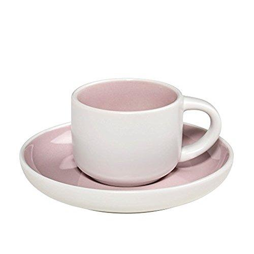 Maxwell and Williams Tint Rose Demi Cup and Saucer 0.10L