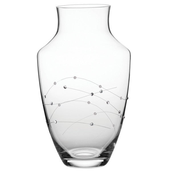 Royal Scot Crystal Diamante Large Teardrop Vase
