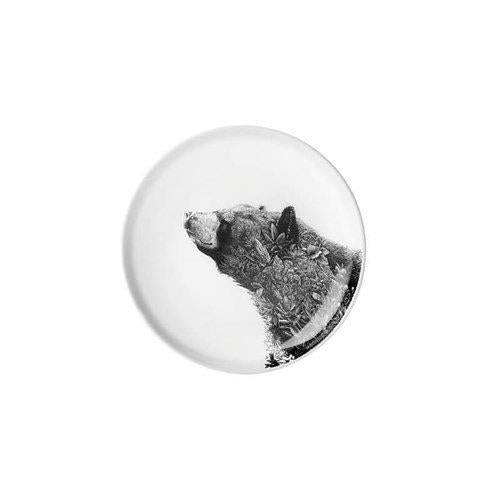 Maxwell and Williams Marini Ferlazzo Black Bear Dish 11.5cm