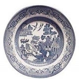 Churchill China Blue Willow Dinner Plate 26cm