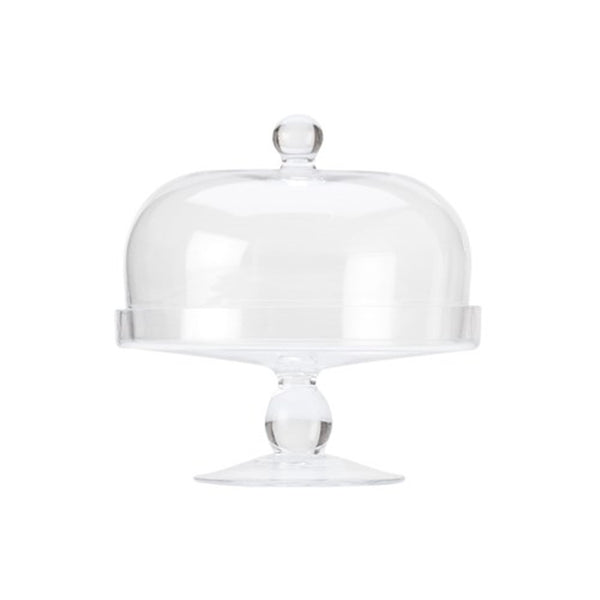 Maxwell and Williams Diamante Cake Stand with Dome 20cm
