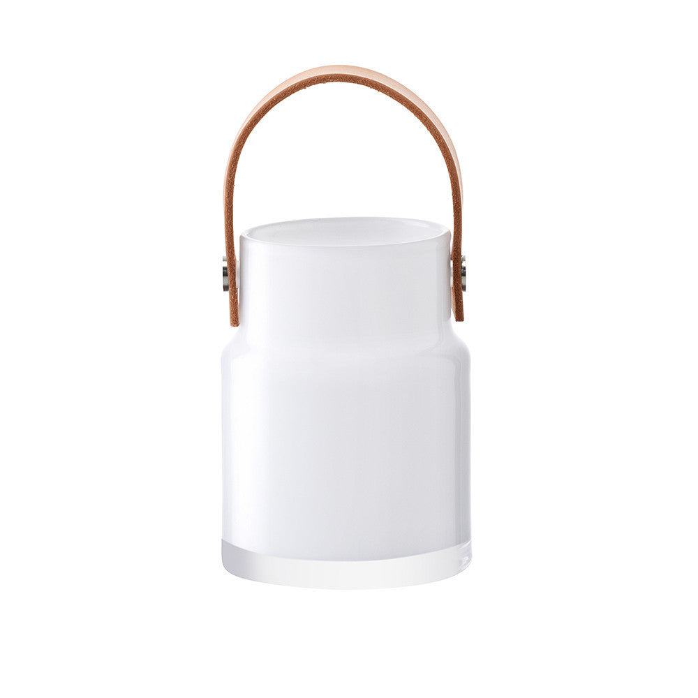 LSA Utility White Storage Jar 18.5cm