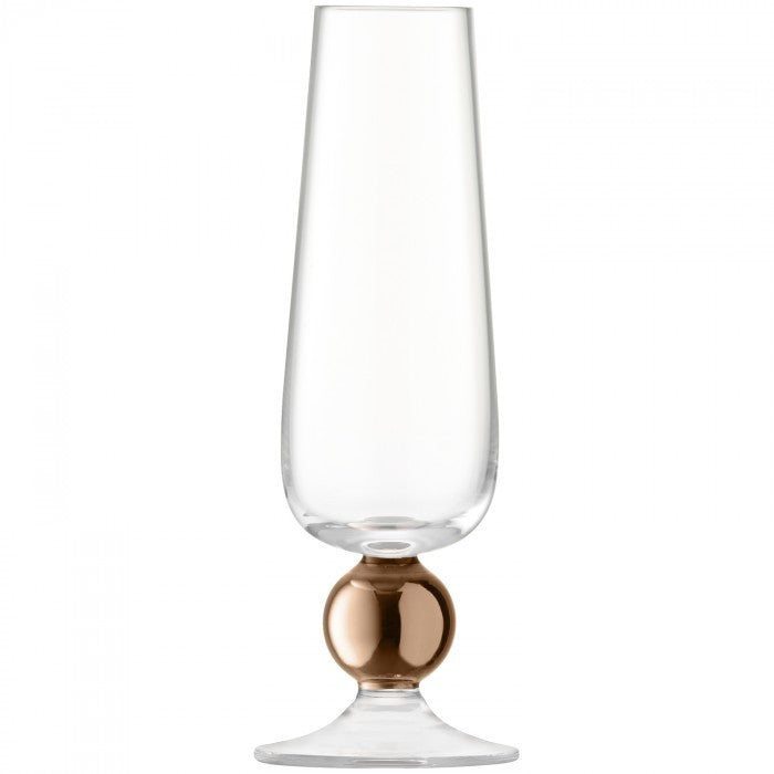 LSA Oro Rose Gold Champagne Flute 0.23L (Pair)
