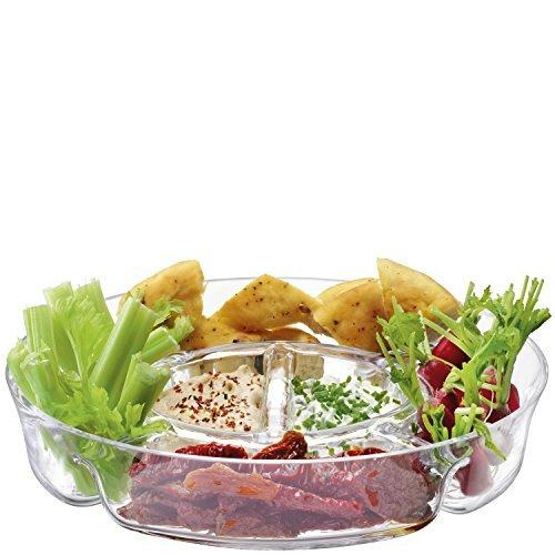 LSA Serve Multi Clear Platter 35cm