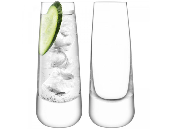 LSA Bar Clear Culture Long Drink Glass 310ml (Set of 2)