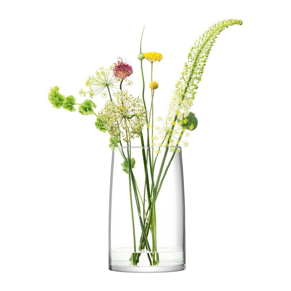 LSA Stems Clear Vase/Lantern/Planter 42cm