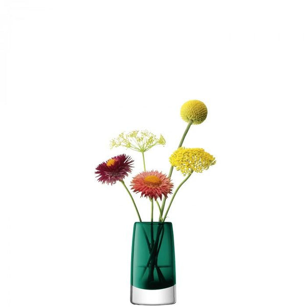 LSA Stems Marine Green Mini Vase 10cm