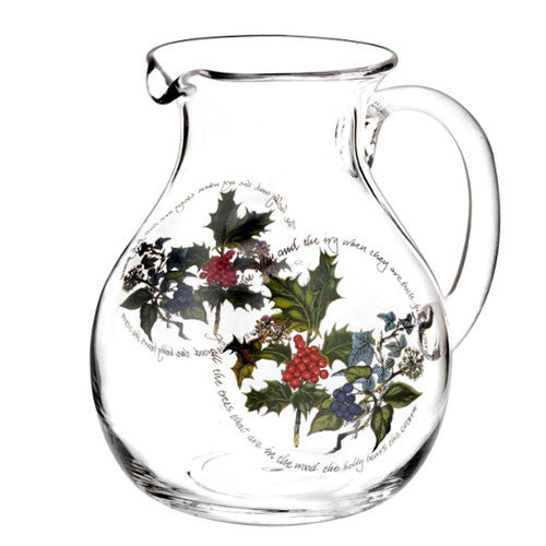 Portmeirion Holly and Ivy Pitcher 3.40L