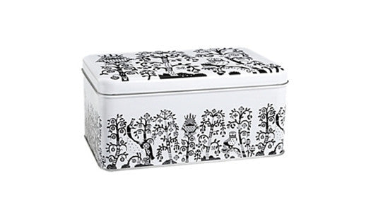 Iittala Taika Black Metal Box 28cm by 17.8cm by 13cm