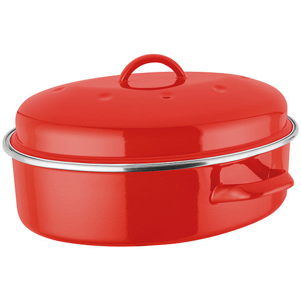 Judge Induction Red Oval Roaster 5.2L