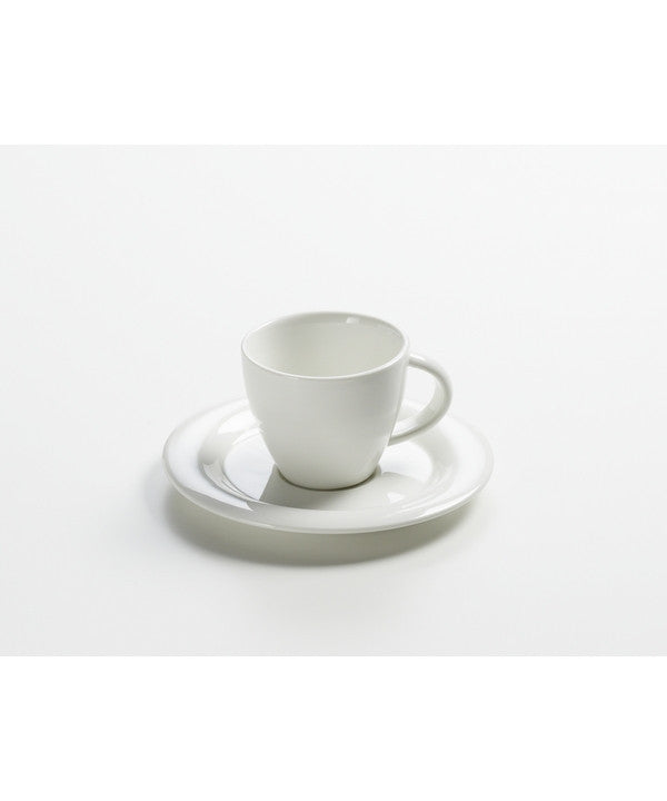 Maxwell and Williams White Basics Sphere Espresso Cup and Saucer 80ml