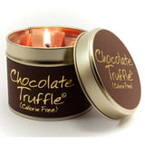 Lily Flame Chocolate Truffle Tin Candle