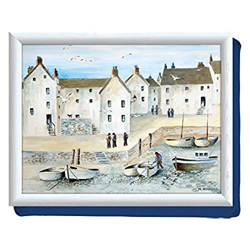 Creative Tops Creative Tops Cushion Cornish Harbour Lap Tray 44cm by 34cm