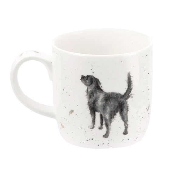 Royal Worcester Wrendale Designs Walkies Labrador Mug 0.31L