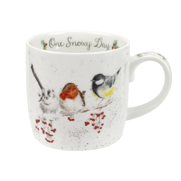 Royal Worcester Wrendale Designs One Snowy Day Mug 0.31L