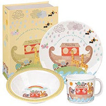 Churchill China Noahs Ark 3 Piece Melamine Set