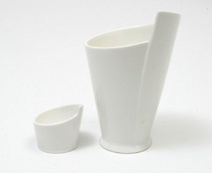 Maxwell and Williams White Basics French Fries Cup and Sauce Dish