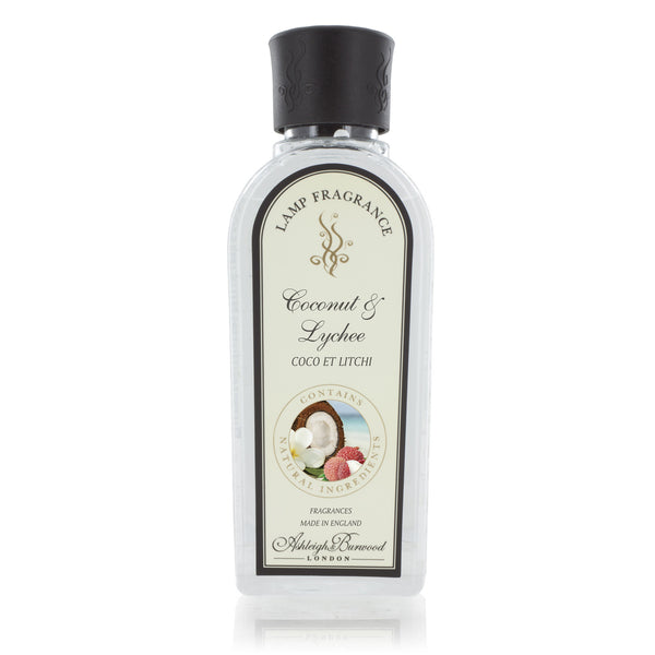 Ashleigh and Burwood Coconut and Lychee Lamp Fragrance 0.50L