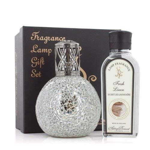 Ashleigh and Burwood Heritage Collection Paradiso and Fresh Linen Large Gift Set with Fragrance 0.25L