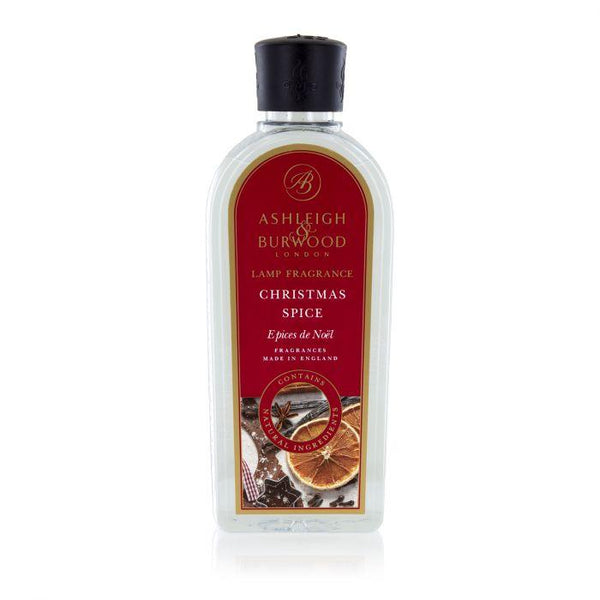 Ashleigh and Burwood Christmas Spice Orange, Clove, Vanilla Lamp Fragrance 0.50L