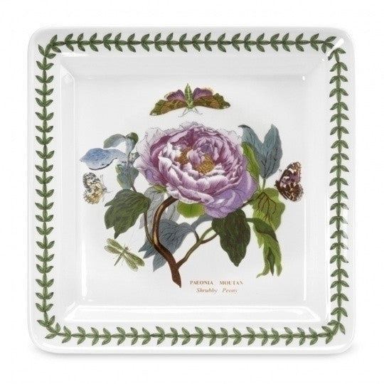 Portmeirion Botanic Garden Square Plate 10.5in (Assorted Motif)
