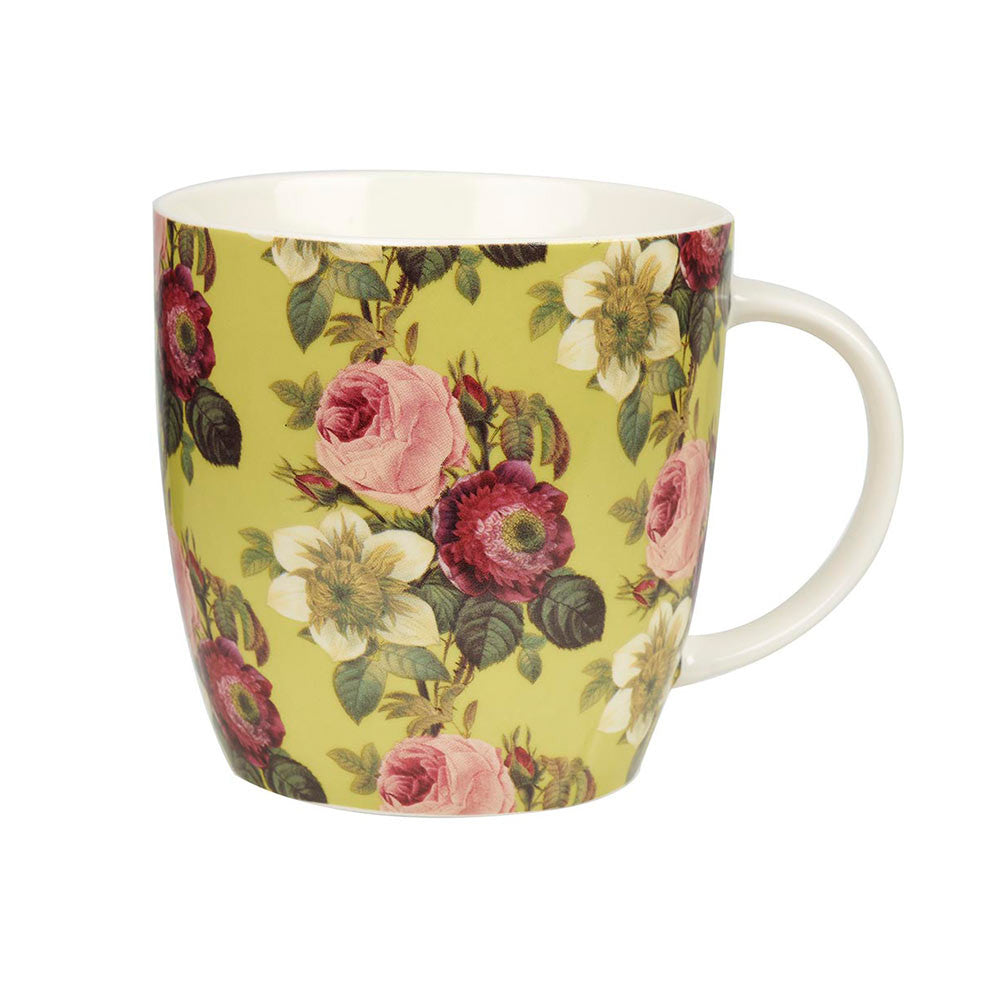 Churchill China Redoute's Roses Clematide Mug 0.39L