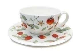 Roy Kirkham Alpine Strawberry Classic cup and saucer