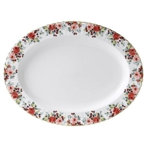 Royal Albert Rosa Oval Dish 38cm
