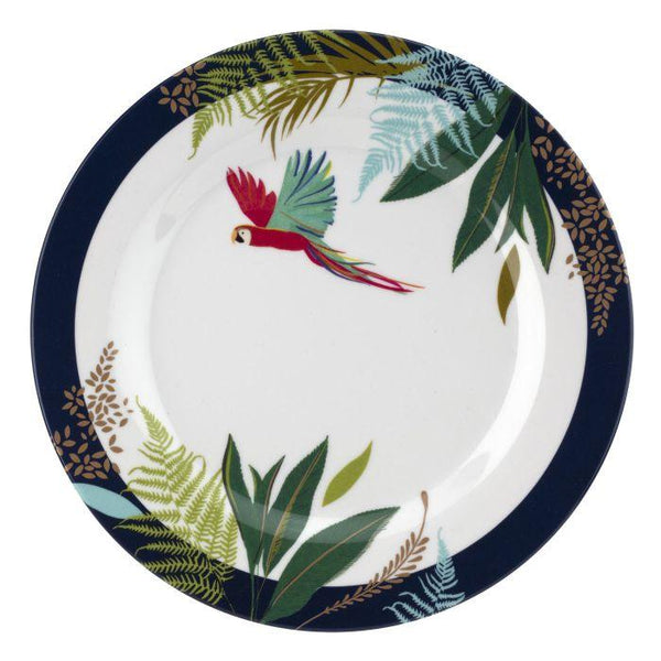 Portmeirion Sara Miller London The Parrot Single Melamine Side Plates 20cm (Assorted Design)
