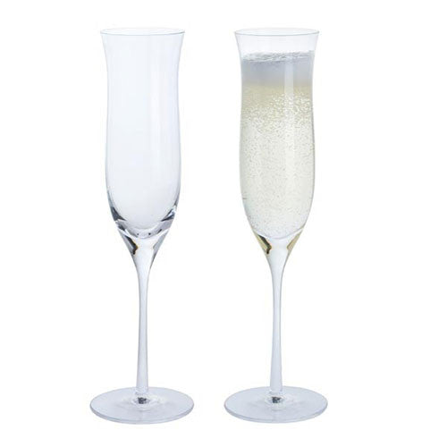 Dartington Crystal Celebrate Collection Champagne Flute (Pair)