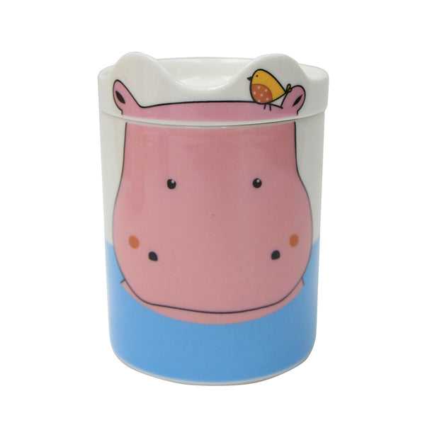 Multiple Choice Hippo Mug Set