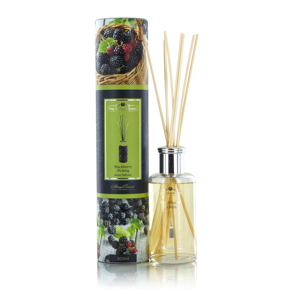 The Scented Home Blackberry Picking Reed Diffuser