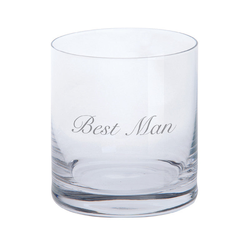 Dartington Crystal Just For You Best Man Tumbler 0.28L (Single)