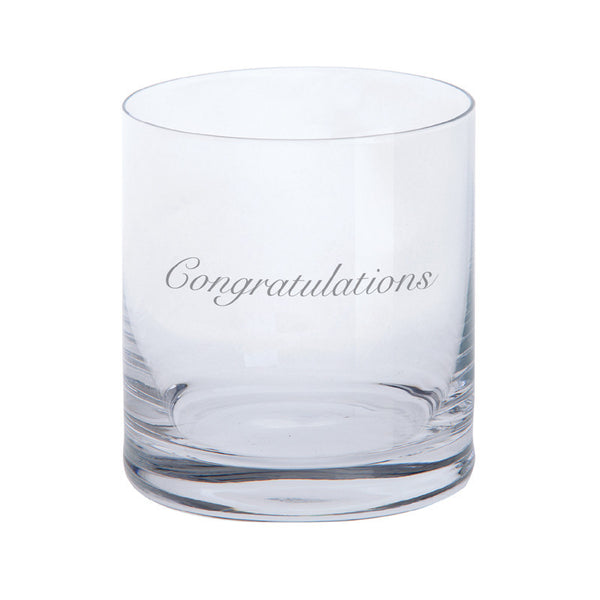 Dartington Crystal Just For You Congratulations Tumbler 0.28L (Single)