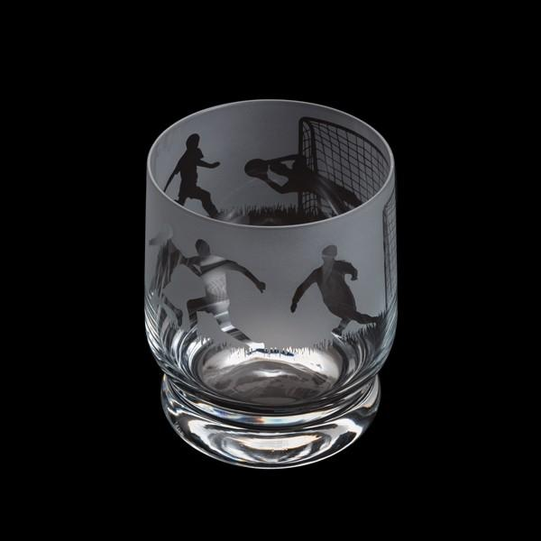 Dartington Crystal Aspect Football Tumbler 10cm /0.35L