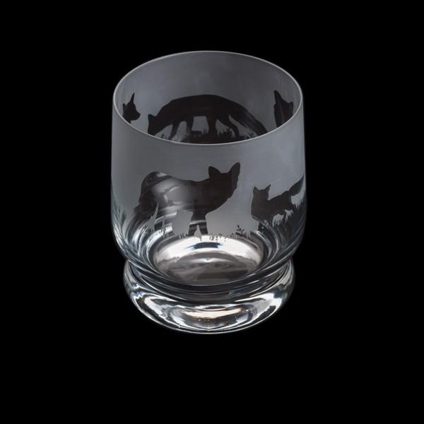 Dartington Crystal Aspect Fox Tumbler 10cm /0.35L