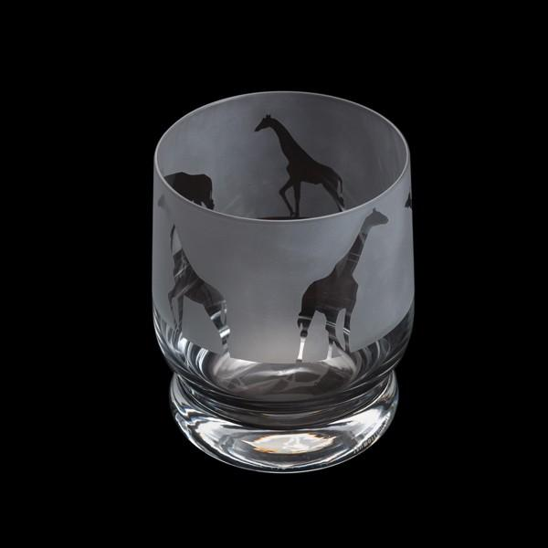 Dartington Crystal Aspect Giraffe Tumbler 10cm /0.35L