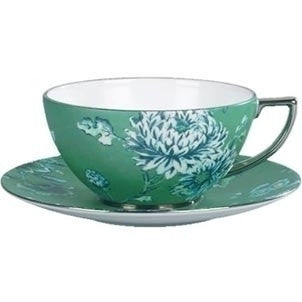 Wedgwood Jasper Conran Chinoiserie Green Teacup Saucer (Saucer Only)