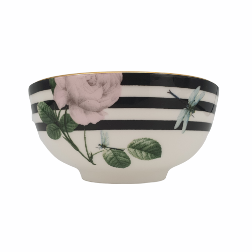 Portemirion Ted Baker Rosie Lee Rice Bowl Black 5""